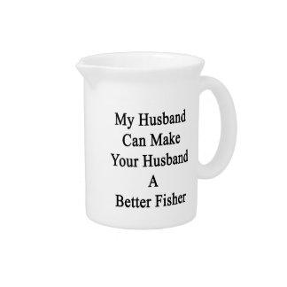 私の夫はあなたの夫によりよいフィッシャーをすることができます ピッチャー