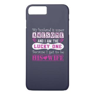 私の夫はすごい素晴らしいです iPhone 8 PLUS/7 PLUSケース