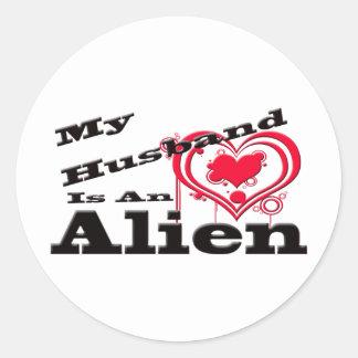 私の夫はエイリアンです ラウンドシール