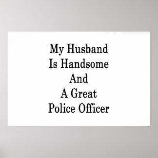 私の夫はハンサム、すばらしい警官です ポスター