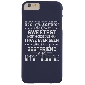 私の夫は私の生命です BARELY THERE iPhone 6 PLUS ケース