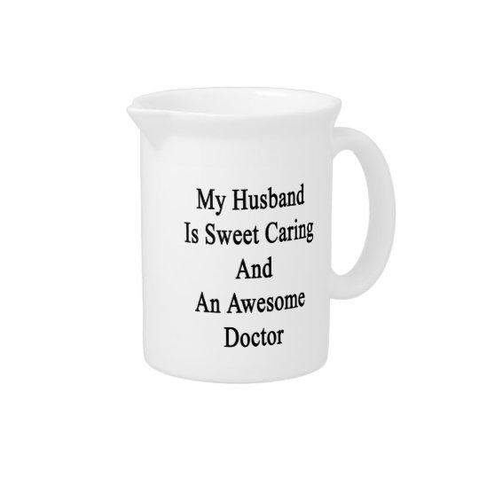 私の夫は菓子の気になることおよび素晴らしい医者です ピッチャー