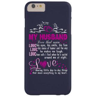 私の夫を愛して下さい BARELY THERE iPhone 6 PLUS ケース