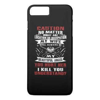 私の妻に警告して下さい iPhone 8 PLUS/7 PLUSケース