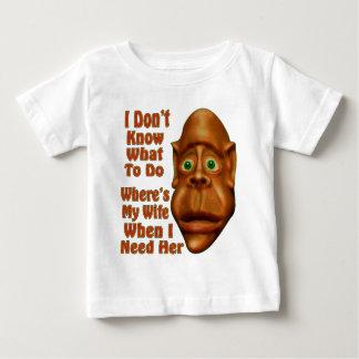 私の妻一方、 ベビーTシャツ