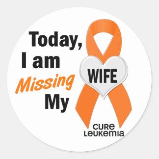 私の妻1を恋しく思う白血病 ラウンドシール