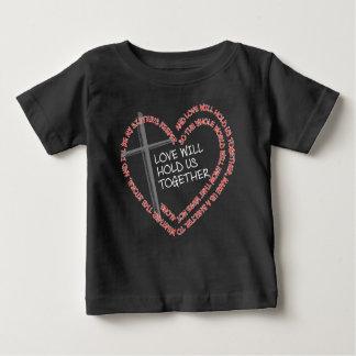私の姉妹の看守のベビーの暗いジャージーのTシャツ ベビーTシャツ