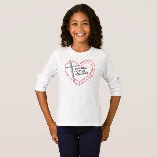 私の姉妹の看守の女の子の長袖のTシャツ Tシャツ