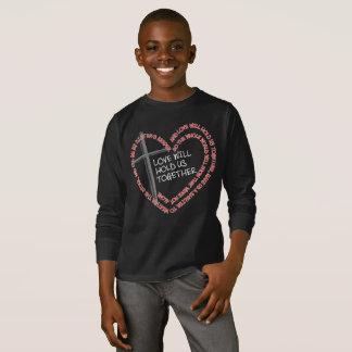私の姉妹の看守の男の子の暗い長袖のTシャツ Tシャツ