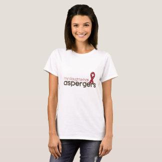 私の娘にAspergersがあります Tシャツ