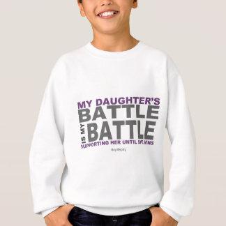 私の娘の戦い スウェットシャツ