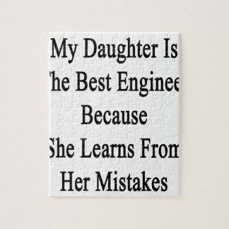 私の娘は彼女が学ぶので最も最高のなエンジニアです ジグソーパズル