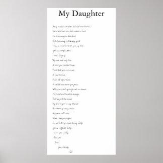 私の娘 ポスター