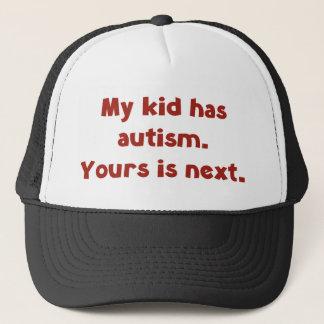 私の子供は自閉症を、あなたのです次経験します キャップ