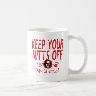 私の子宮のミット コーヒーマグカップ