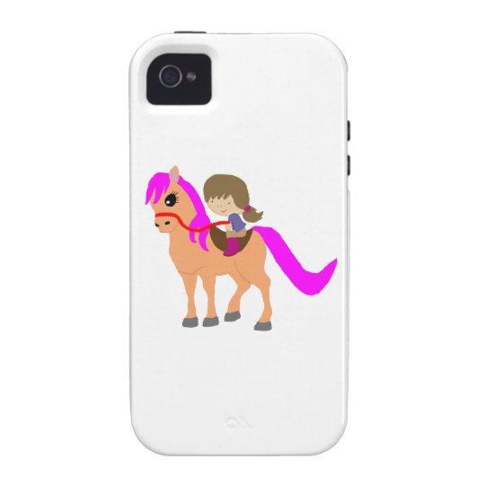 私の子馬で歩くこと Case-Mate iPhone 4 カバー