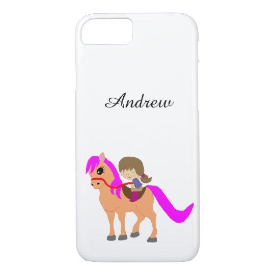 私の子馬で歩くこと iPhone 7ケース