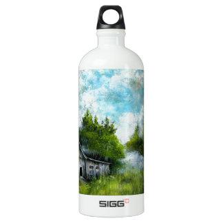 私の孤独な小屋のデザイン ウォーターボトル