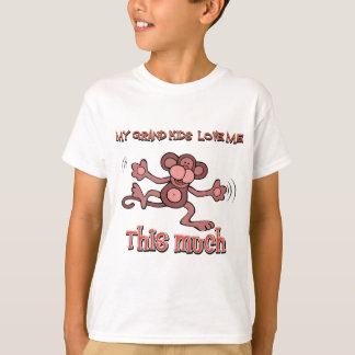 私の孫はこの私を大いに愛します Tシャツ
