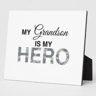 私の孫は英雄のデジタル私のカムフラージュです フォトプラーク