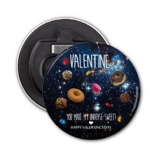 私の宇宙菓子のバレンタインを作ります 栓抜き