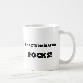 私の害虫駆除業者の石! コーヒーマグカップ