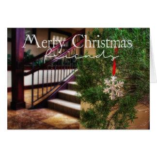 私の家からあなたのへのクリスマスカード カード