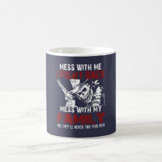 私の家族を台なしにしないで下さい! コーヒーマグカップ