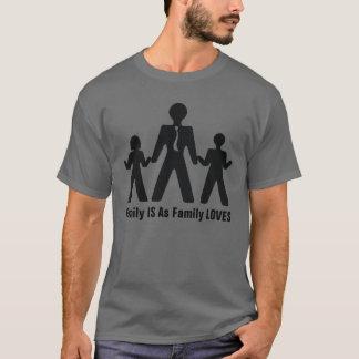 私の家族愛 Tシャツ