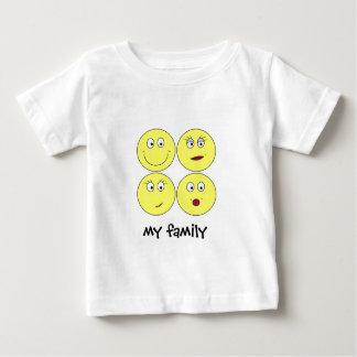 私の家族 ベビーTシャツ