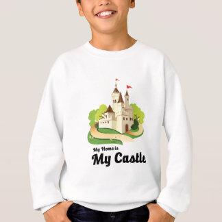 私の家私の城 スウェットシャツ