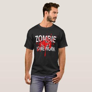 私の宿題のゾンビ。 Tシャツ