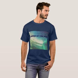 """""""私の専有物をサーフします子供のCudiのTシャツによってインスパイア波"""" Tシャツ"""