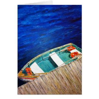 """""""私の小さいボート"""" カード"""