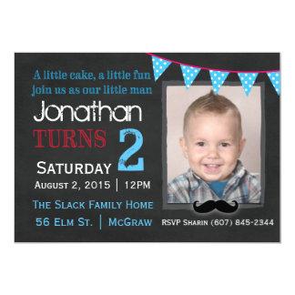 私の小さい人の誕生日の招待状 カード