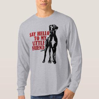 私の小さい友人に挨拶して下さい Tシャツ