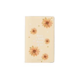 私の小さい夢をノート夢を見て下さい ポケットMoleskineノートブック
