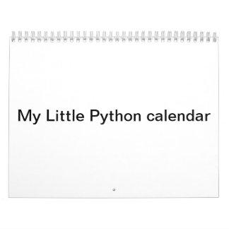 私の小さい大蛇のカレンダー カレンダー