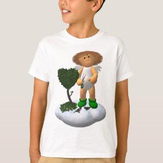 私の小さい天使: 庭師 Tシャツ