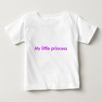 私の小さい王女 ベビーTシャツ