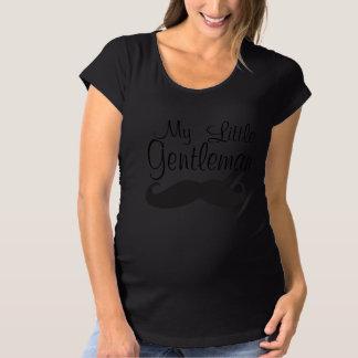 私の小さい紳士 マタニティTシャツ