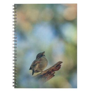 私の小さい鳥 ノートブック