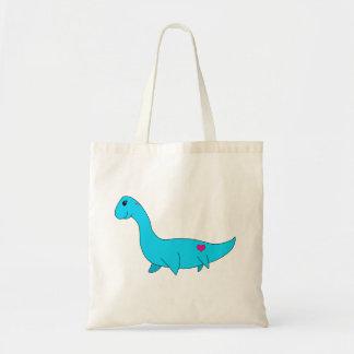 私の小さいPlesiosaurus トートバッグ