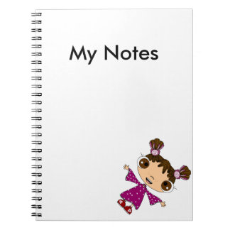 私の小さな女の子 ノートブック