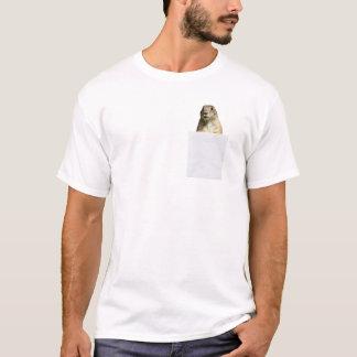 私の小型のおもしろTシャツのプレーリードッグ Tシャツ