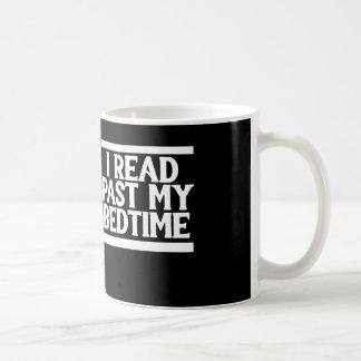 私の就寝時間を過ぎて読まれるI コーヒーマグカップ