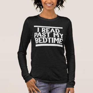 私の就寝時間を過ぎて読まれるI Tシャツ
