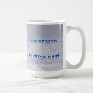 私の常に季節 コーヒーマグカップ