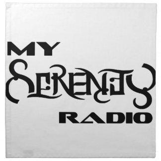 私の平静のラジオの製品サポートの獣医 ナプキンクロス