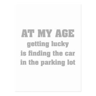 私の年齢 ポストカード